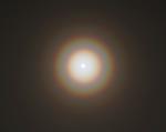 Lunar corona 25.1.2013
